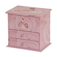 Mele & Co. Ballerina Musical Jewelry Box