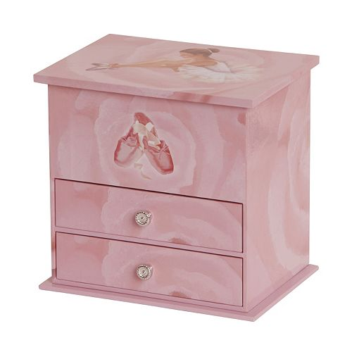 Mele Designs Hazel Girls Musical Ballerina Jewelry Box