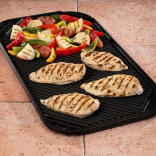 Nordic Ware Nonstick Double-Burner Reversible Grill Griddle