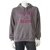 Men's Stitches Atlanta Braves Pullover Fleece Hoodie