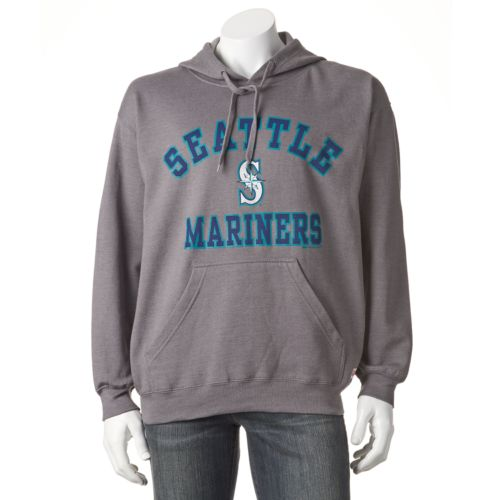 Men's Stitches Seattle Mariners Pullover Fleece Hoodie
