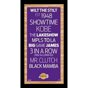 Steiner Sports Los Angeles Lakers 19