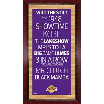 Steiner Sports Los Angeles Lakers 32