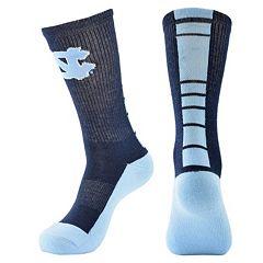 Men's Mojo North Carolina Tar Heels Champ 1/2-Cushion Performance Crew Socks