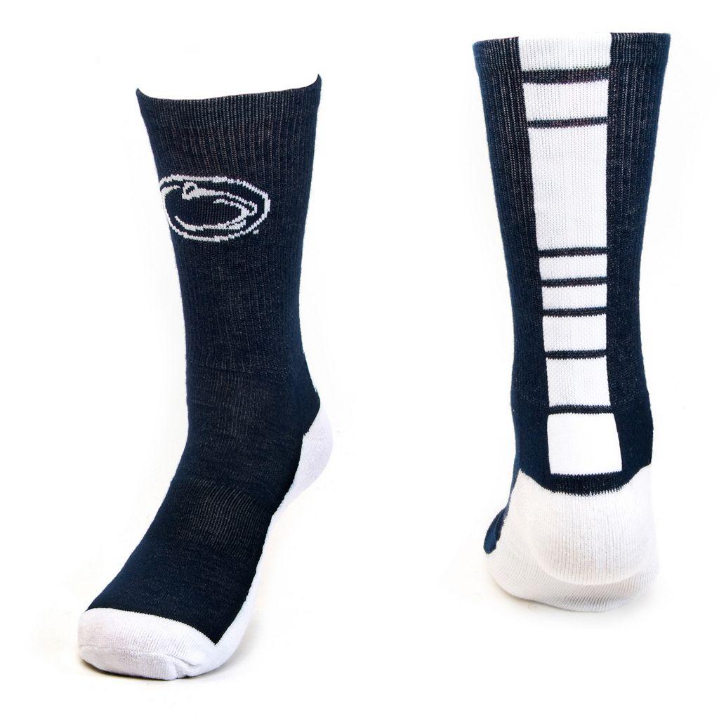 Men's Mojo Penn State Nittany Lions Champ 1/2-Cushion Performance Crew Socks
