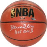 Steiner Sports Bernard King NBA Autographed Basketball
