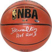 Steiner Sports Bernard King NBA Autographed Basketball