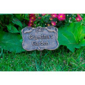 Grandma's Garden Outdoor Garden Marker