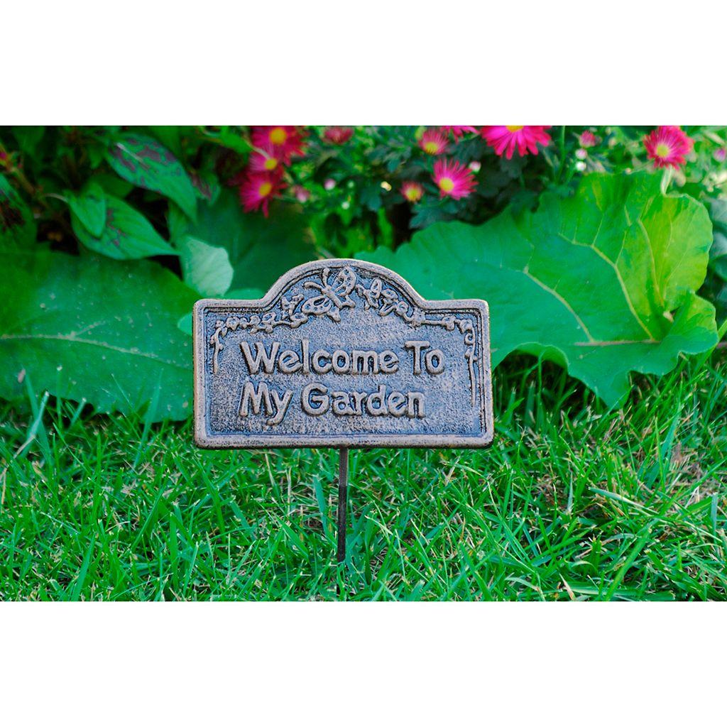 Welcome To My Garden Outdoor Garden Marker