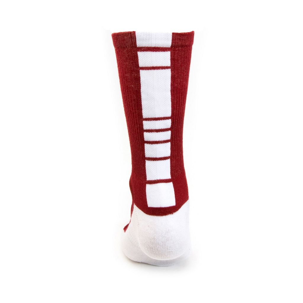 Men's Mojo Oklahoma Sooners Champ 1/2-Cushion Performance Crew Socks