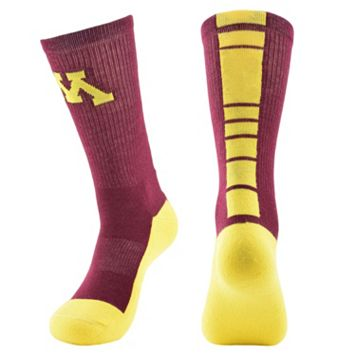 Men's Mojo Minnesota Golden Gophers Champ 1/2-Cushion Performance Crew Socks