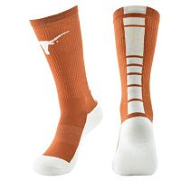 Men's Mojo Texas Longhorns Champ 1/2-Cushion Performance Crew Socks
