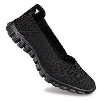 Skechers EZ Flex 2 Yes Please Women's Stretch Weave Slip-On Shoes