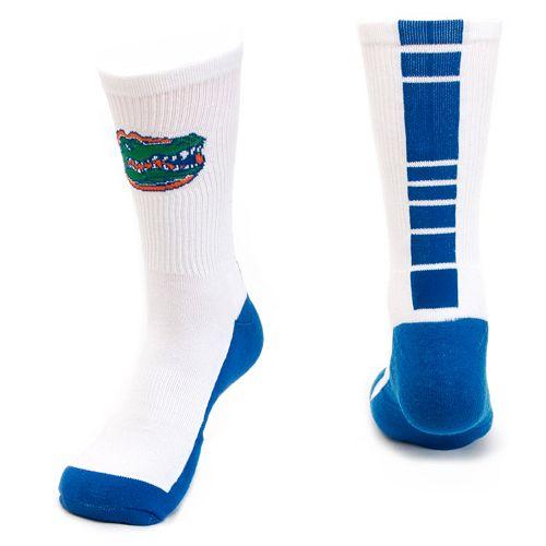 Women's Mojo Florida Gators Champ 1/2-Cushion Performance Crew Socks