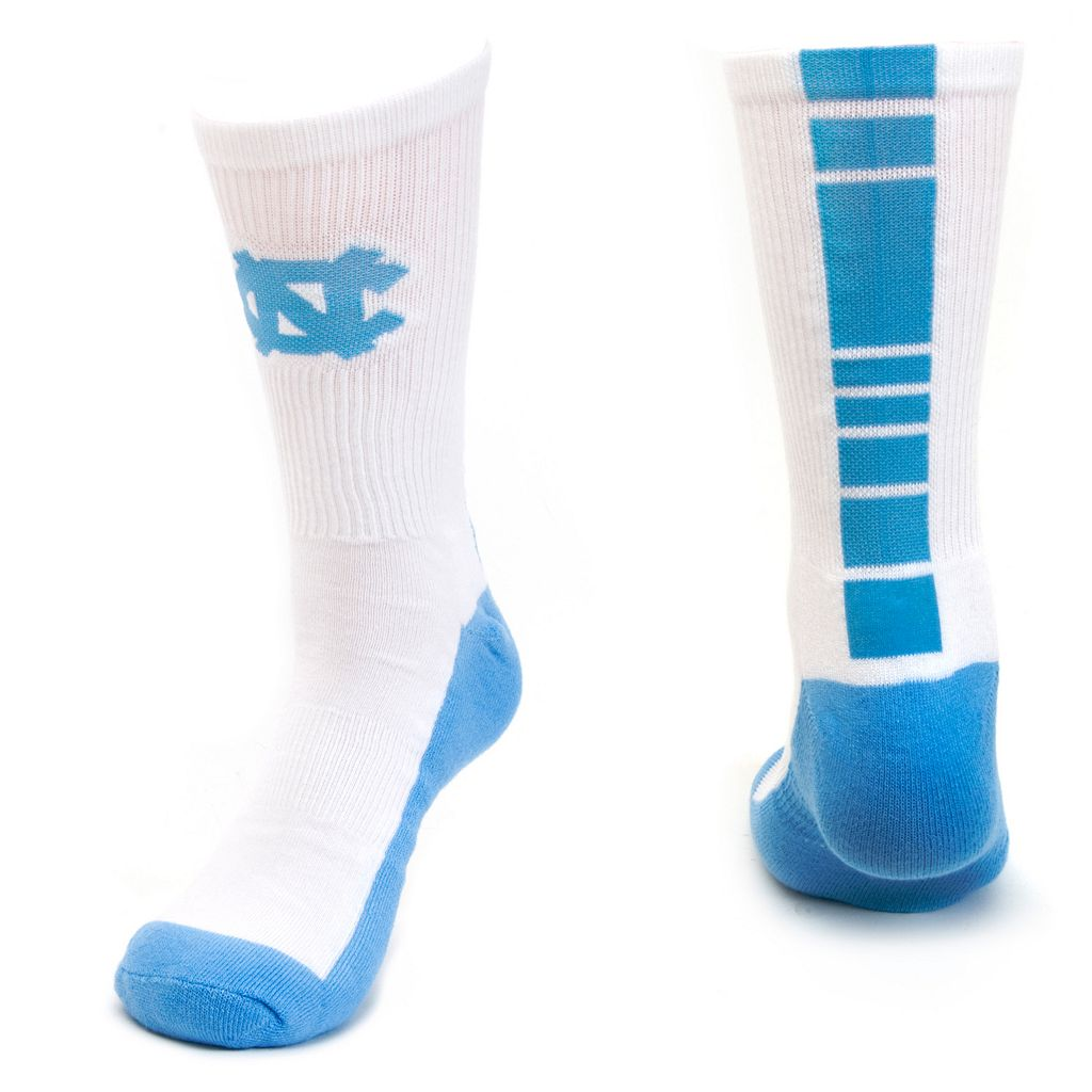 Women's Mojo North Carolina Tar Heels Champ 1/2-Cushion Performance Crew Socks