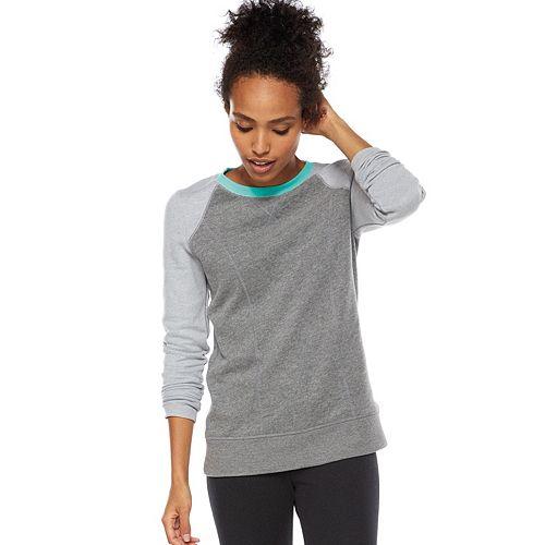 Women's Tek Gear® Fleece Raglan Sweatshirt