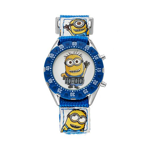 Despicable me kids 39 minion digital watch for Despicable watches