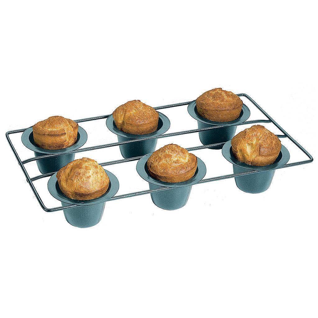 Ironwood Gourmet 6-Cup Nonstick Popover Pan Set