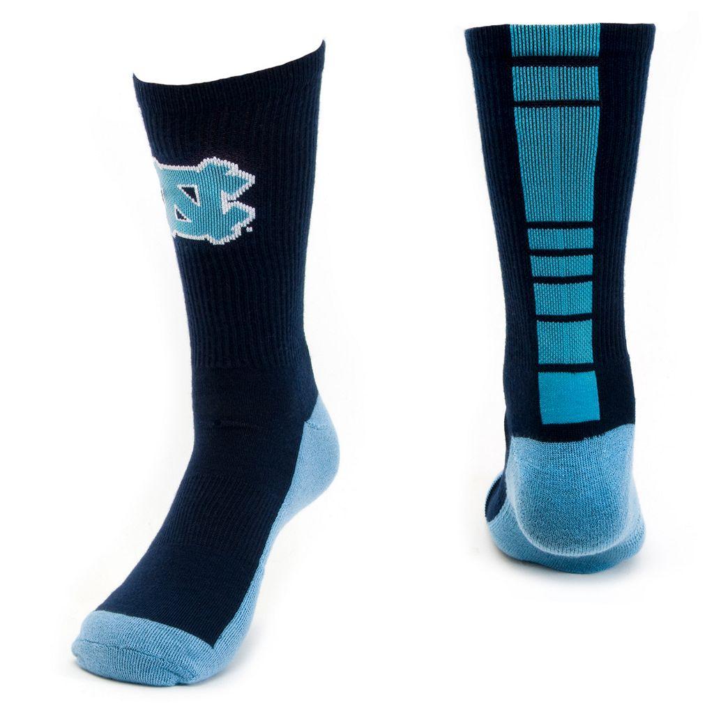 Women's Mojo North Carolina Tar Heels Champ 1/2-Cushion Performance Crew Socks