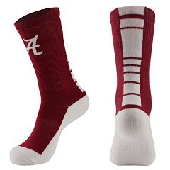 Women's Mojo Alabama Crimson Tide Champ 1/2-Cushion Performance Crew Socks