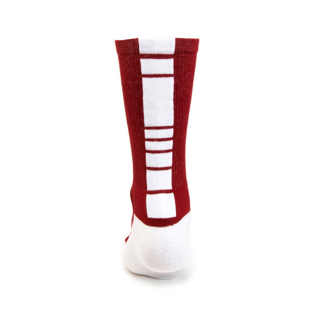 Women's Mojo Alabama Crimson Tide Champ 1/2-Cushion Performance Crew Socks