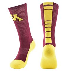 Women's Mojo Minnesota Golden Gophers Champ 1/2-Cushion Performance Crew Socks
