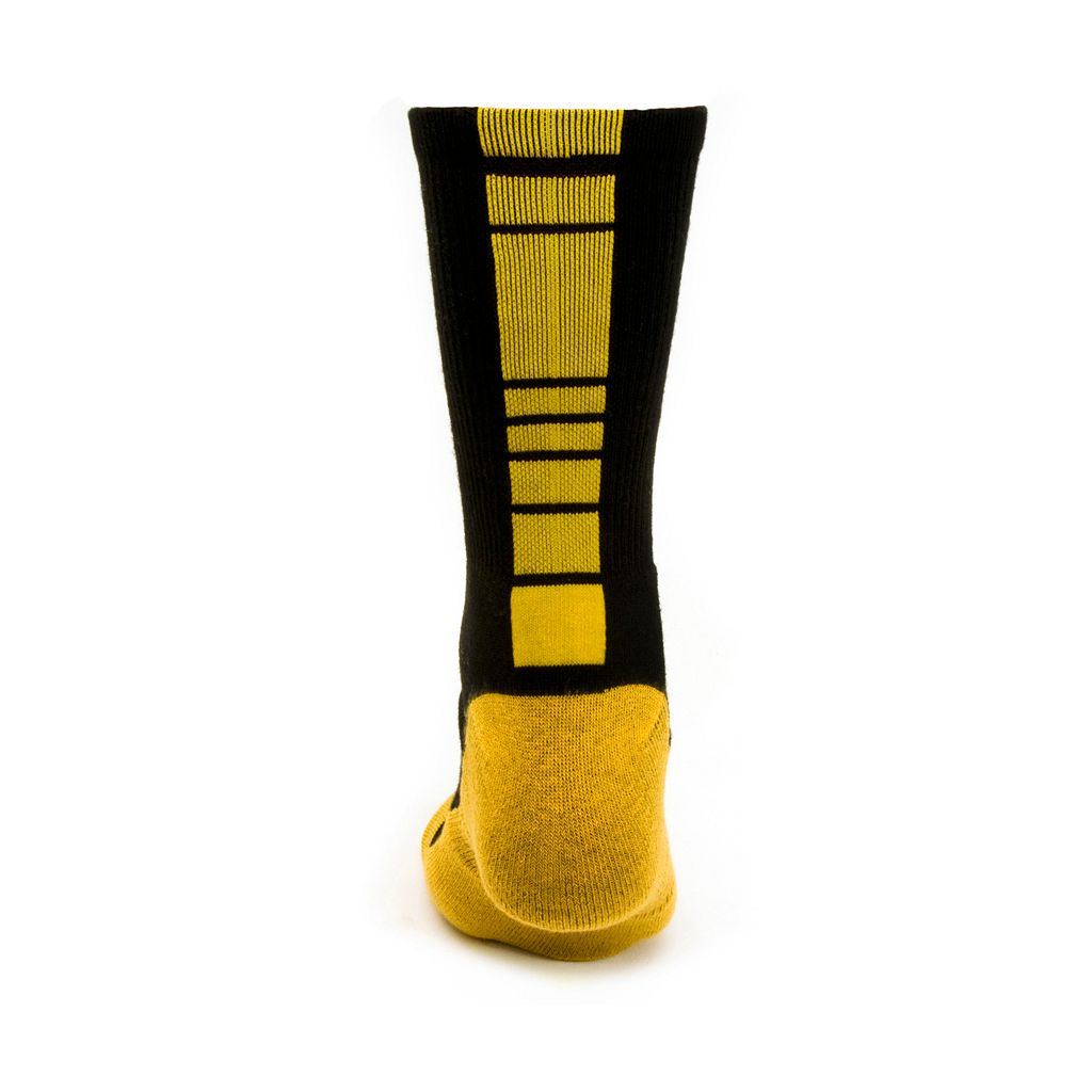 Women's Mojo Missouri Tigers Champ 1/2-Cushion Performance Crew Socks