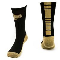 Women's Mojo Purdue Boilermakers Champ 1/2-Cushion Performance Crew Socks
