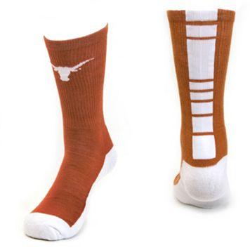 Women's Mojo Texas Longhorns Champ 1/2-Cushion Performance Crew Socks