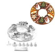 Fox Run Craftsmen Cookie Wreath Bake Set