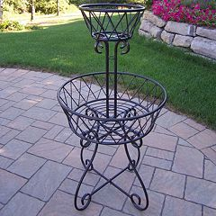 2 tier Basket Planter
