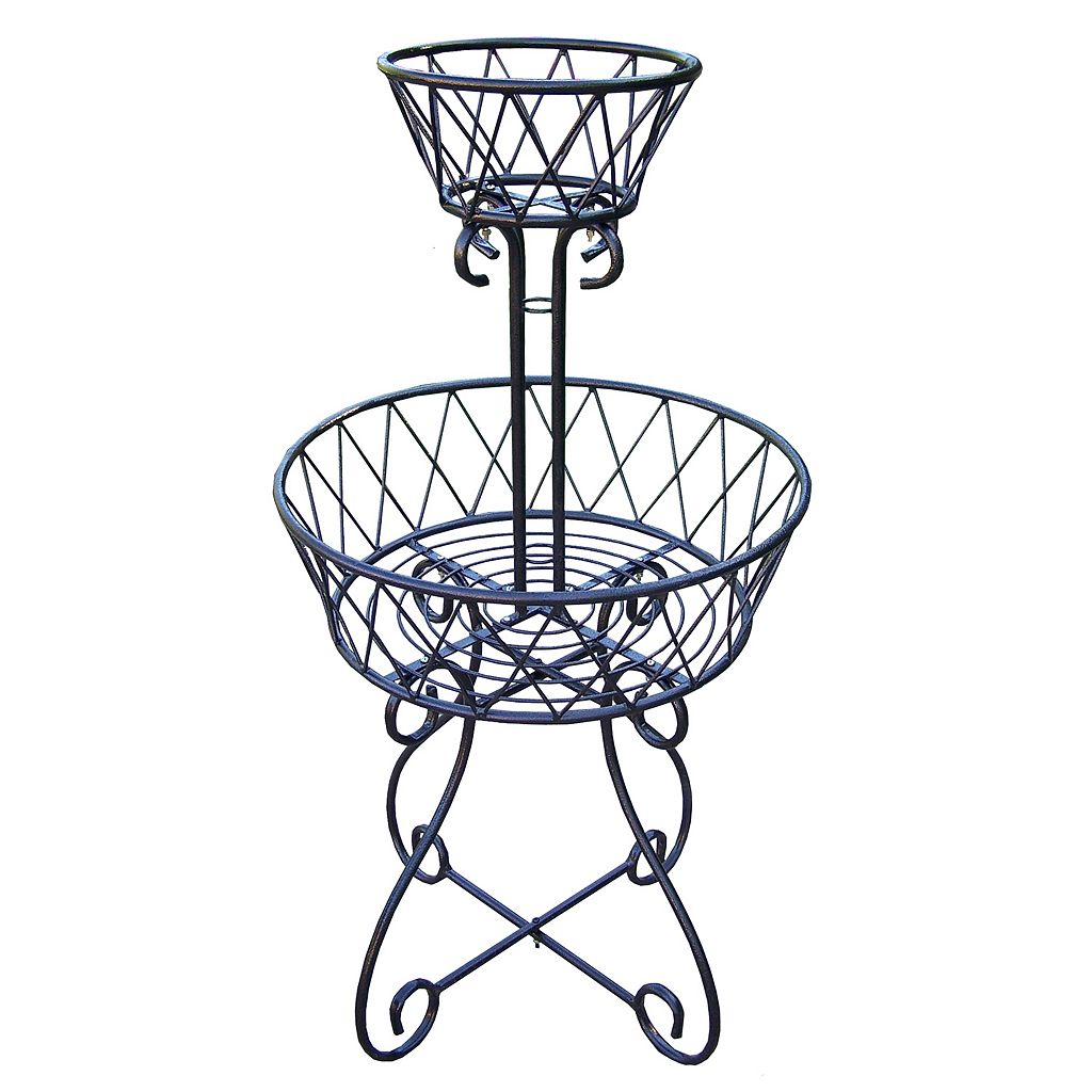 2-Tier Basket Planter