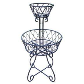 2-Tier Basket Planter