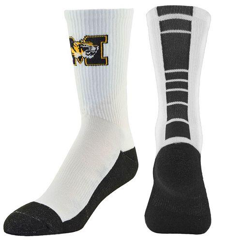 Youth Mojo Missouri Tigers Champ 1/2-Cushion Performance Crew Socks