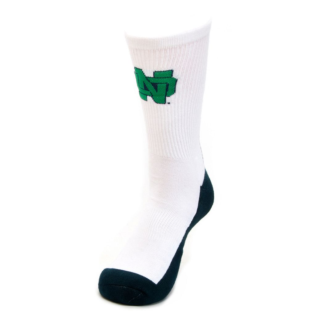 Youth Mojo Notre Dame Fighting Irish Champ 1/2-Cushion Performance Crew Socks
