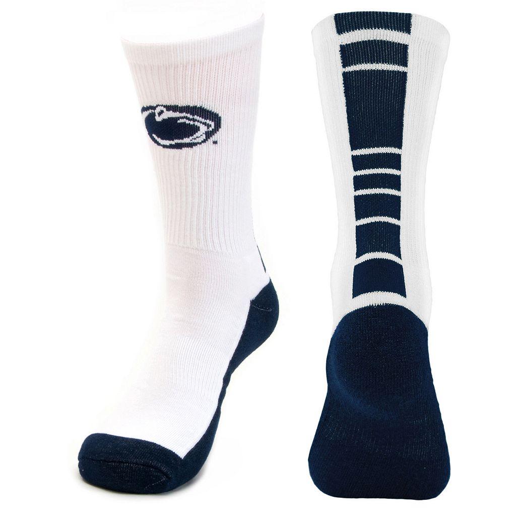 Youth Mojo Penn State Nittany Lions Champ 1/2-Cushion Performance Crew Socks