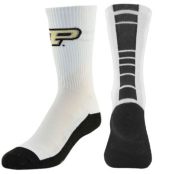 Youth Mojo Purdue Boilermakers Champ 1/2-Cushion Performance Crew Socks