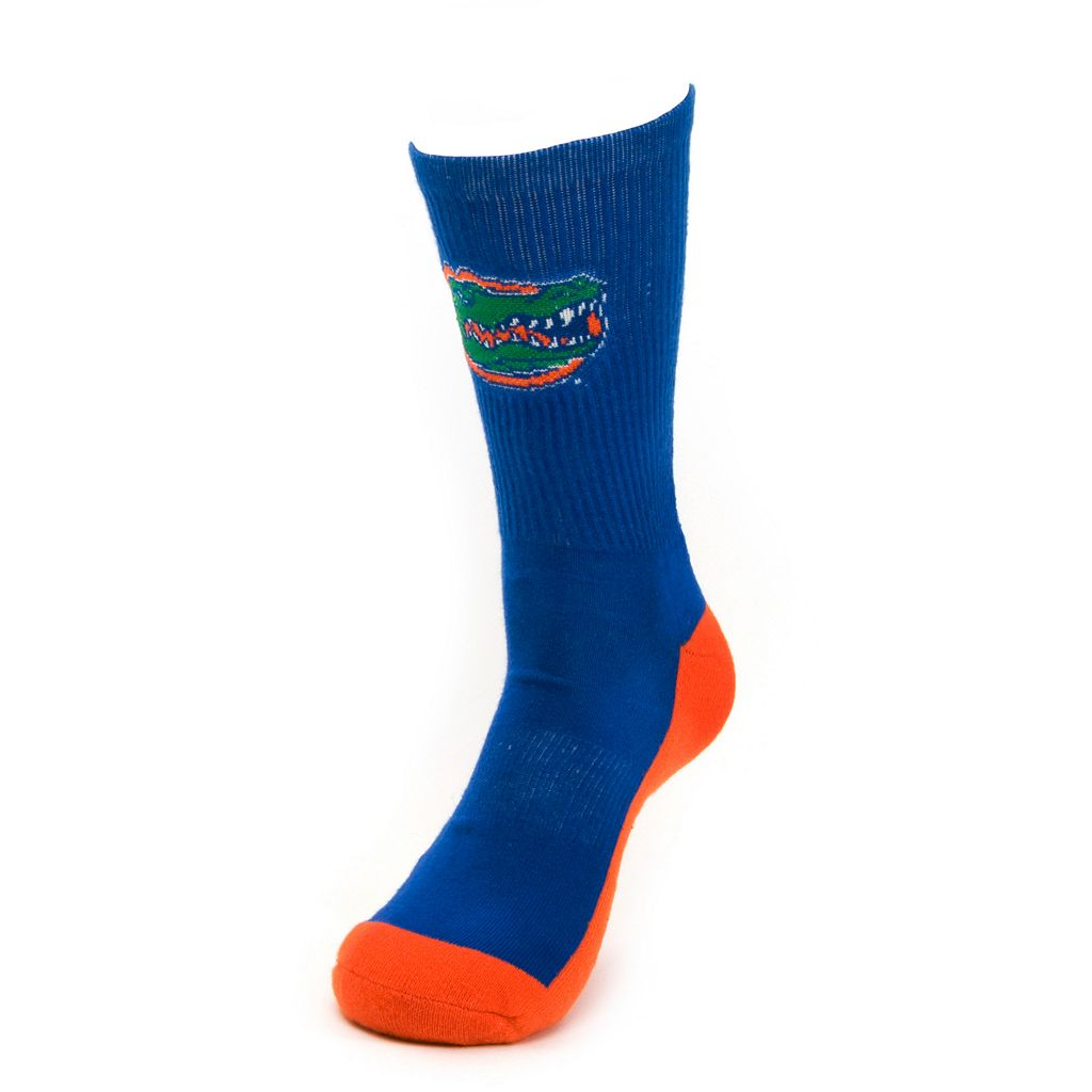 Youth Mojo Florida Gators Champ 1/2-Cushion Performance Crew Socks