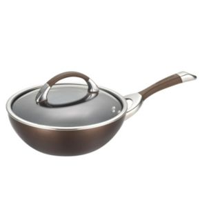 Circulon Symmetry 9.5-in. Hard-Anodized Nonstick Covered Stir Fry Pan