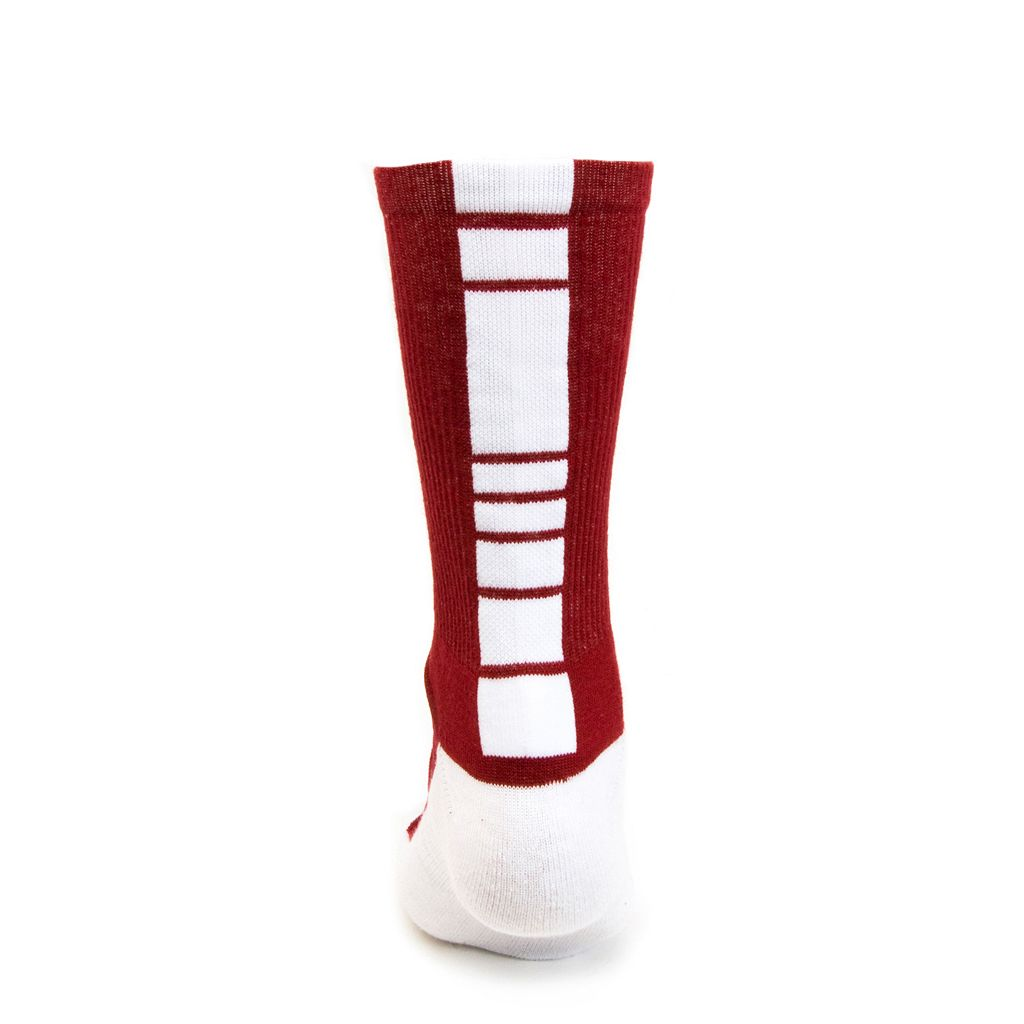 Youth Mojo Alabama Crimson Tide Champ 1/2-Cushion Performance Crew Socks