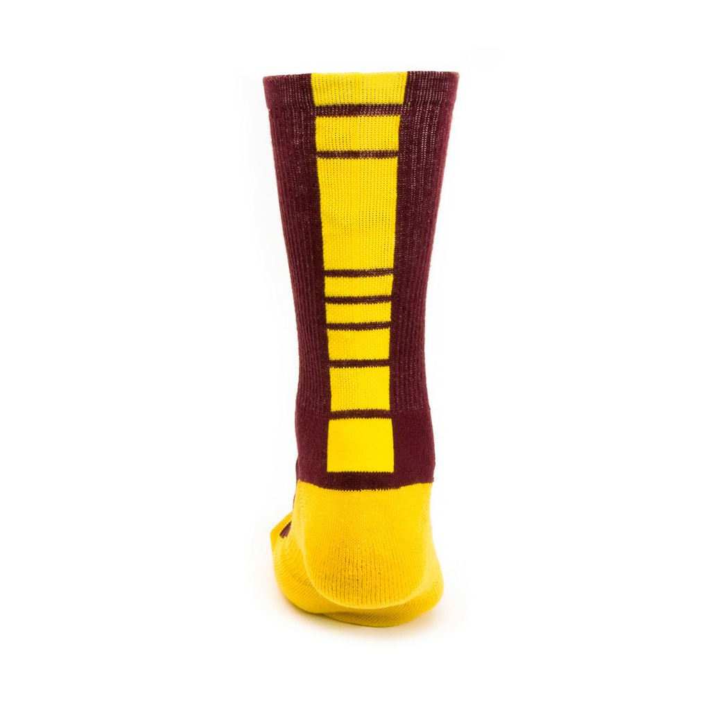 Youth Mojo Minnesota Golden Gophers Champ 1/2-Cushion Performance Crew Socks