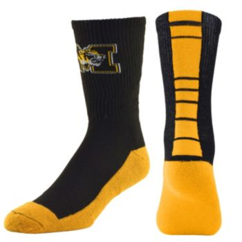 Youth Mojo Missouri Tigers Champ 1/2-Cushion Performance Crew Socks