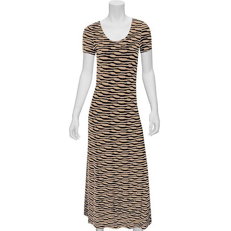 Indication by ECI Wavy Maxi Dress - Women's (Black)