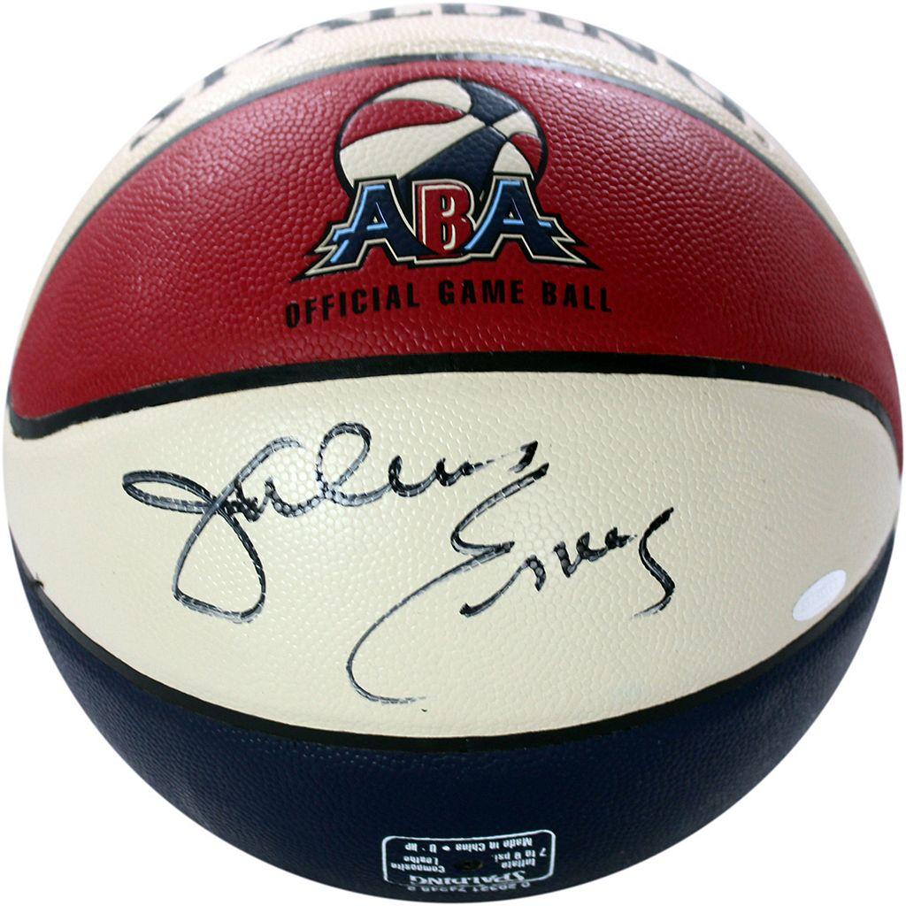 Steiner Sports Julius Erving ABA Autographed Basketball