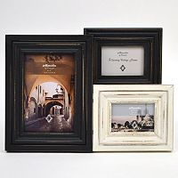 Concepts in Time 3-Opening Distressed Collage Frame