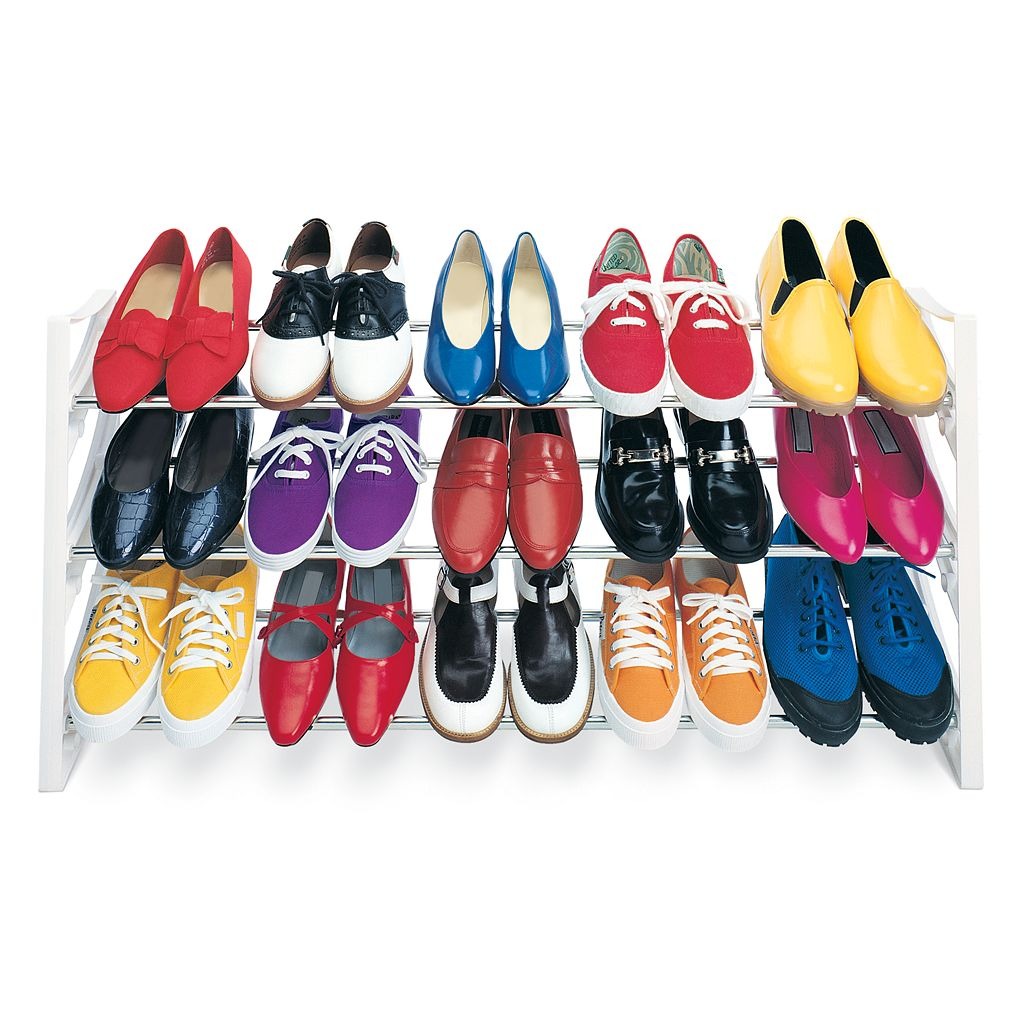 Lynk® 15-Pair Convertible Shoe Rack