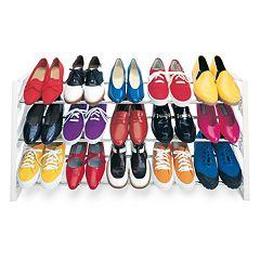 Lynk 15-Pair Convertible Shoe Rack by