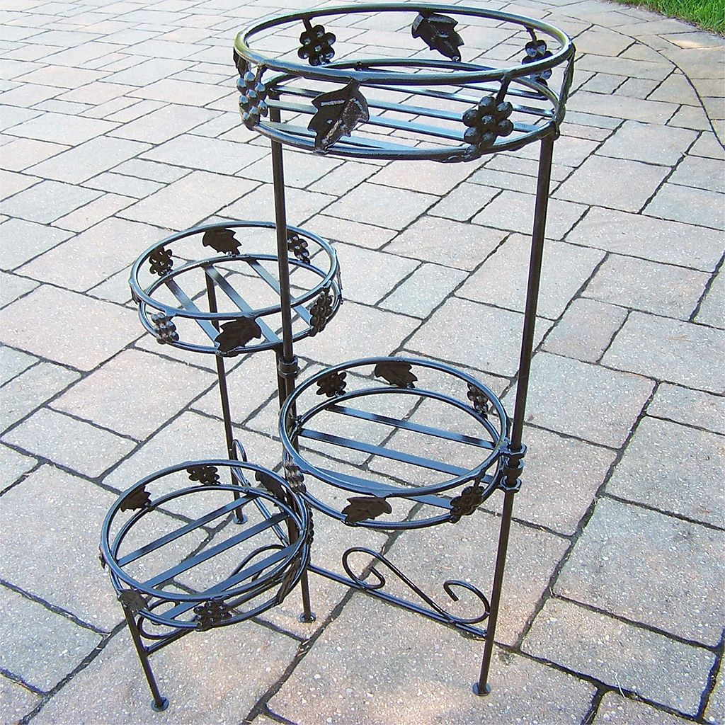Foldable 4-Tier Plant Stand