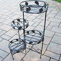 Foldable 4 tier Plant Stand