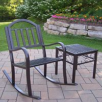 Rochester Rocking Chair & End Table 2-piece Set
